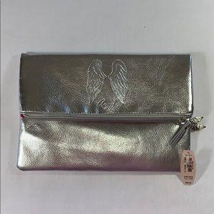 Victoria's Secret Silver Lingerie Bag
